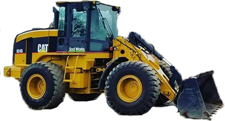 Yellow Front End Loader